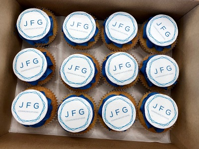JFG Comms, transport industry specialists, 3rd birthday cakes