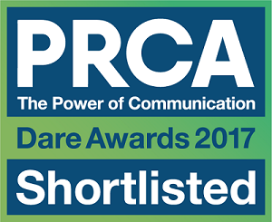 PRCA Dare Awards Shortlisted logo