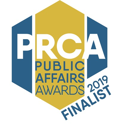 Public Affairs Awards logo 2019 - JFG Comms finalist consultancy of the year