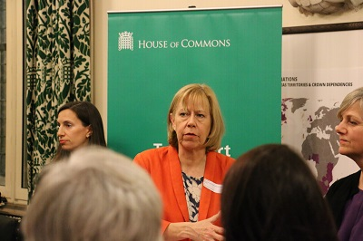 Image of Ruth Cadbury speaking at APPG for Women in Transport event