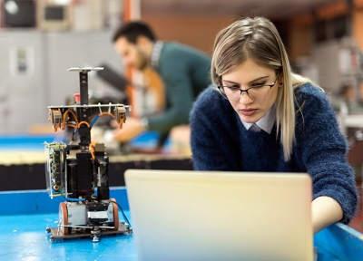 Image of young female engineer INWED19 #TransformtheFuture